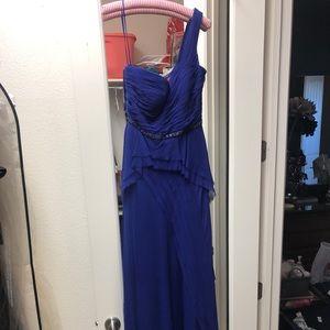 Ricky Freeman Teri Jon formal gown